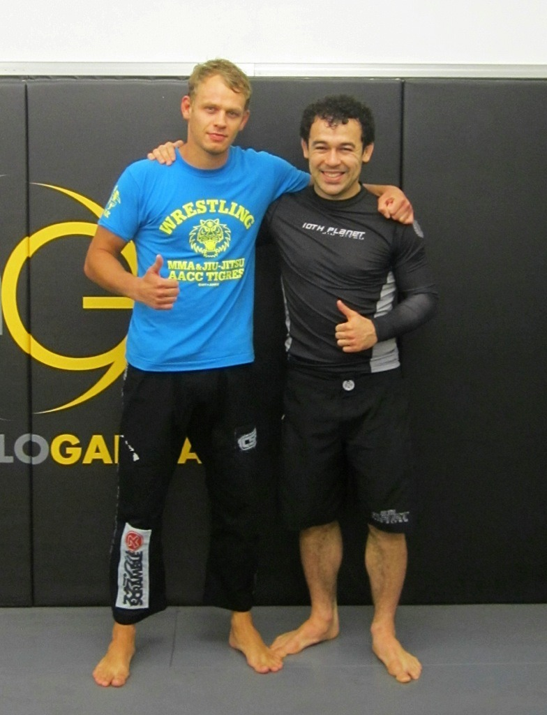 Training with Marcelo Garcia – BJJ Globetrotter