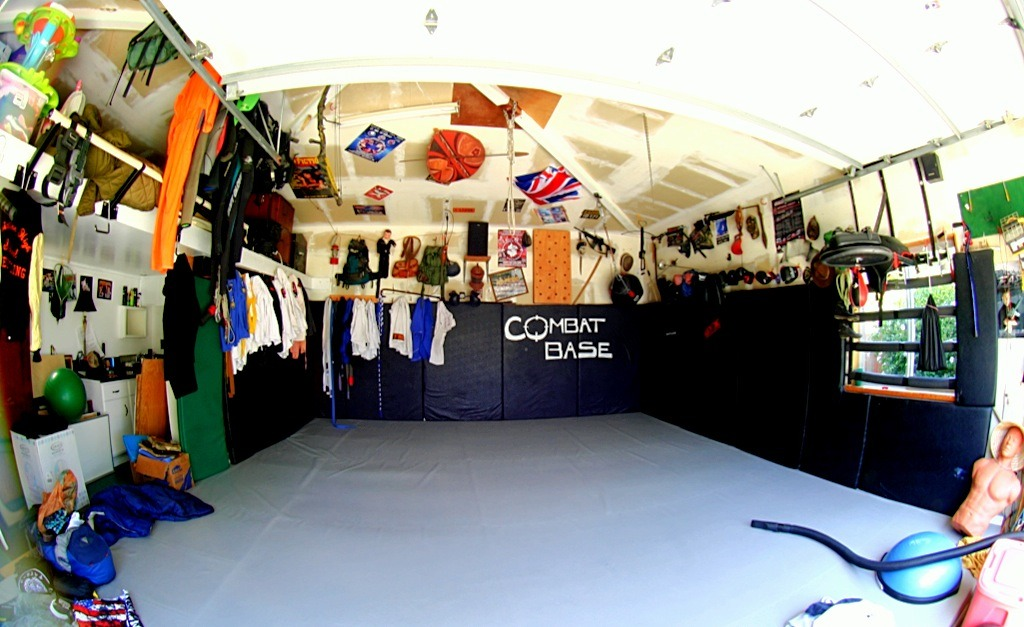Full circle in los angeles garage gym bjj globetrotter